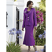 Brooch Cascading Suit