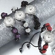 Crystal Ball Bead Watch