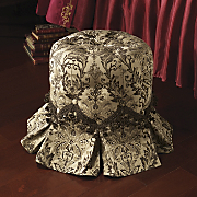minuet oval tufted vanity stool