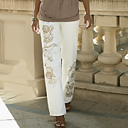 gold embellished jean by midnight velvet style