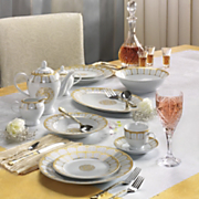 47 piece serena dinnerware set