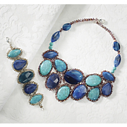 blue cosmos gem jewelry