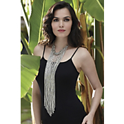 cascade necklace long
