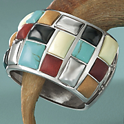 southwest mosaic bangle