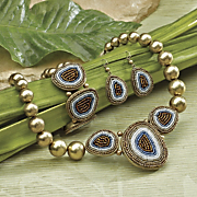 leopard bead jewelry