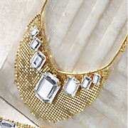 camelot mesh necklace