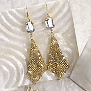 camelot mesh earrings