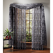 animal print sheer window treatments