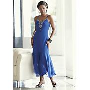 dream cruise beaded cobalt dress