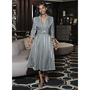 Plus-Size Jacket Dress @ ElegantPlus.com Editor's Pick