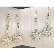 Earrings Faux Pearl 1