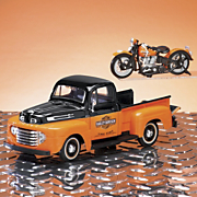 1948 Ford F 1 Pickup With Motorcycle