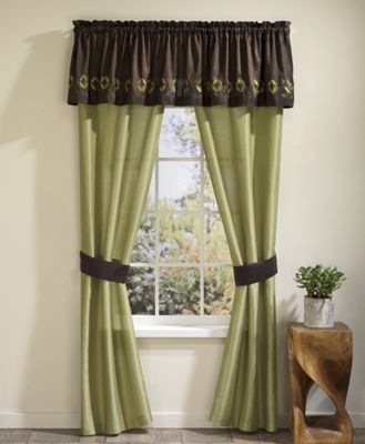Melrose Comforter Set and Window Treatments