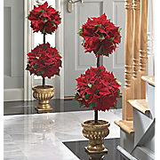 Topiary Poinsettia Ball