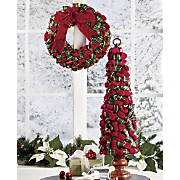 Ribbon Wreath And Tree