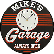 Clock Sign Garage