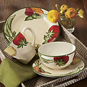 16 piece Farmers Market Dinnerware Set