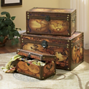 3-piece World Trunk Set