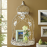 Coronet Birdcage Shelf