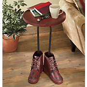 Red Shoes Table