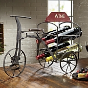 Giardello Three wheeled Wine Cart