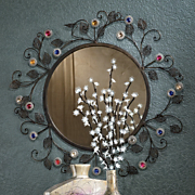 Jewel Blossom Mirror