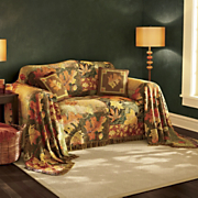 Fall Leaf Collage Furniture Throw And Pillow