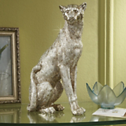 Kings Treasure Leopard Statue