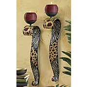 Set Of 2 Safari Sconces