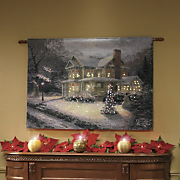 Lighted Thomas Kinkade Hanging