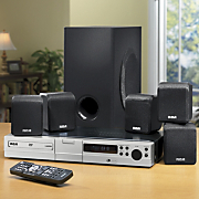 Home Theater With iPad iphone Dock