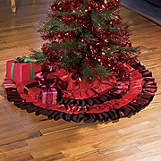 Ruffled Tree Skirt