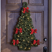 Lighted Door wall Tree