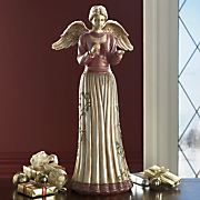 Open handed Angel Wreath Holder And Sculpture