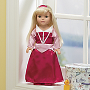Princess Doll With Three Fairy Tale Outfits