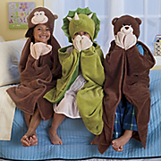 Personalized Hooded Character Blanket