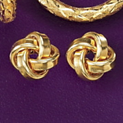 Knot Post Earrings