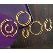 6 pair Hoop Set