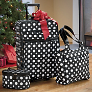 3 piece Polka Dot Travel Set