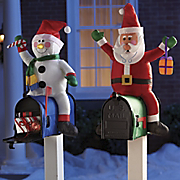 Merry Mailbox Toppers