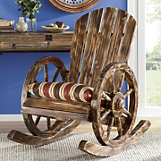 wagon wheel rocker 24