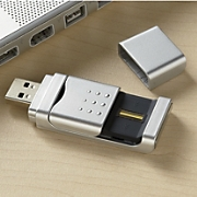 Fingerprint protected Flash Drive