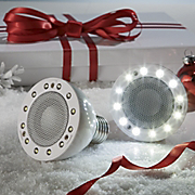 Wireless Light Bulb Speaker System
