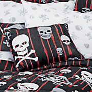 Skulls and Crossbones Pillow