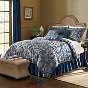 7 Piece Belvedere Bedding Set and Window Treatments