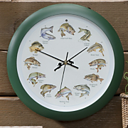 Splashing Gamefish Clock