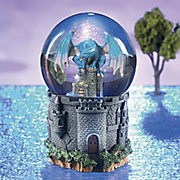 Dragon Guardian Snowglobe