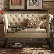 angelina woven tufted storage bench
