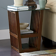 Essence Solid Wood End Table