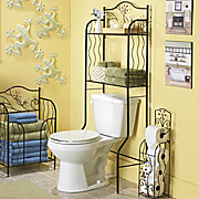blooming bathroom space saver